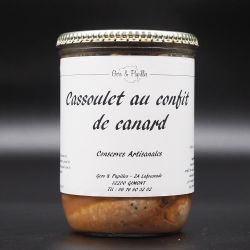 Cassoulet gastronomique 750g