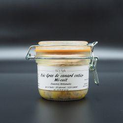 """Foie gras de canard entier """"mi-cuit"""" en verrine"""