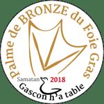 Palme de bronze 2018