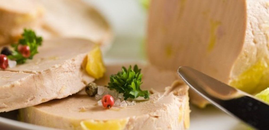 Authentic whole duck foie gras from the Gers region