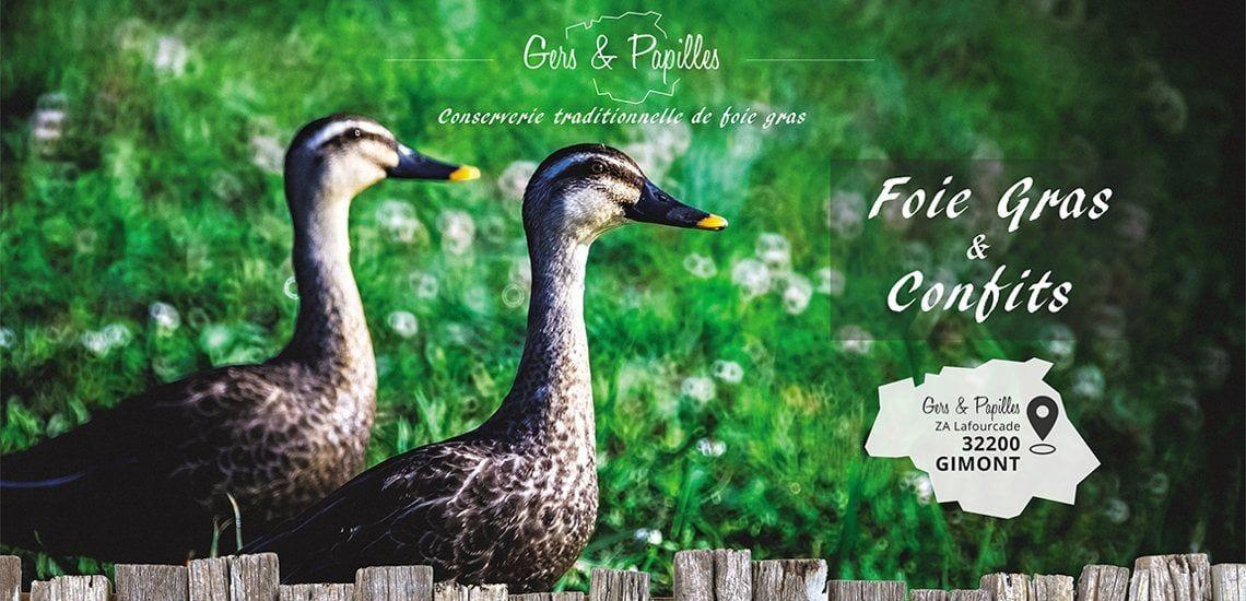 Conserverie traditionnelle de foie gras
